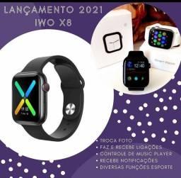 PROMOÇÃO Smartwatch x8, Faz ligações e coloca foto na tela