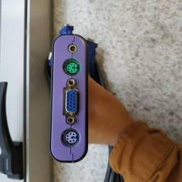 KVM Switch 4 Port PS/2