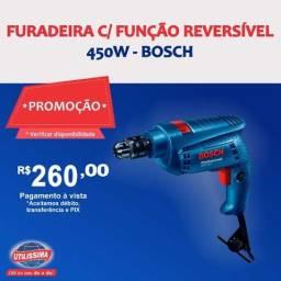 Furadeira de impacto Bosch GSB 450 RE ? Entrega grátis