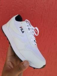 Vendo sapatênis fila plataforma e tênis fila esportivo ( 120 com entrega)
