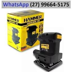 Lixadeira Orbital Profissional 135w Hammer 110v