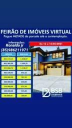 Feirão imobiliário (Parcelas 189 .00$ reais)