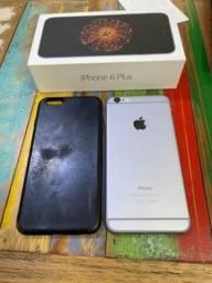 Título do anúncio: iPhone 6 Plus usado 64gb