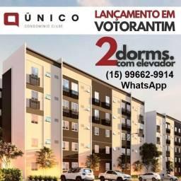 Apartamento de 2 dorm, Único Condomínio Clube Votorantim #ro10