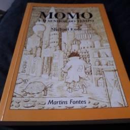 Livro - Momo e o senhor do tempo - Michael Ende