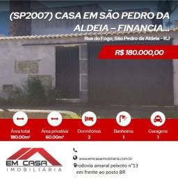 Lj@ - Casa em São Pedro da Aldeia  Financiamento bancário!!!!!