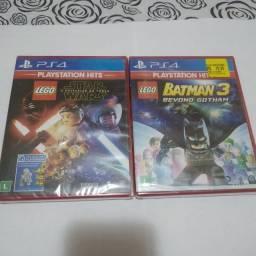 Título do anúncio: Os dois jogos PS4 por 100