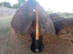 Contrabaixo Sx Precision Bass Com Captação Fender Usa.