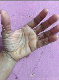 COLAR FEMININO DE OURO 18