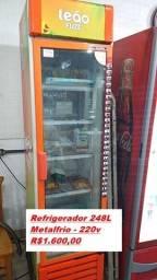 Vendo Refrigerador Slim Metalfrio