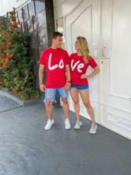 Kit t shirt  casal