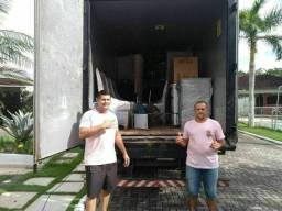 Frete da embalagens e desmontagem de móveis