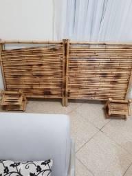Título do anúncio: Cabeceira de bambu de casal