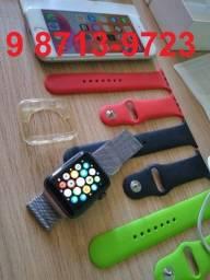 Apple Watch (2ª geração) Impecável + 3 pulseiras extras! (relógio/smartwatch)
