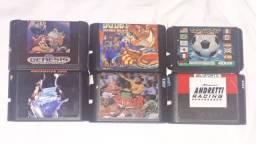 Título do anúncio: Mega Drive - Lote de jogos / Avulso