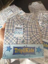 45 camisetas infantis por 250,00