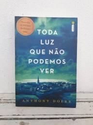 Livro Toda Luz Que Não Podemos Ver, Anthony Doerr