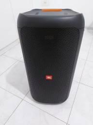 Caixa JBL PARTY BOX 100, Semi nova, bateria 100 %