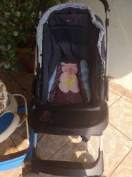Título do anúncio: Carrinho bebê + andador