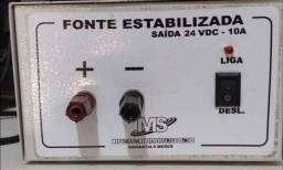 Fonte estabilizadora 24VDC - 10A (115v-220v)