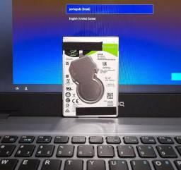 HD Para notebook 500g Seagate Novíssimo