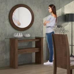 Aparador samara c/ quadro com espelho zapp 62 99354 9977