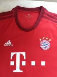 Camisa Bayern de Munique 2015-2016 Oficial Original Adidas 9514439b52f7d
