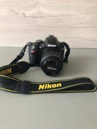 Câmera profissional nikon d3200 na caixa!