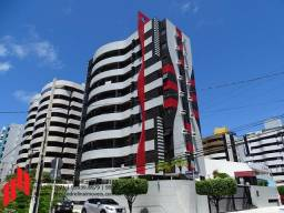 Edifício Pharaons na Ponta Verde, Apartamento com 3/4 e completo de armários