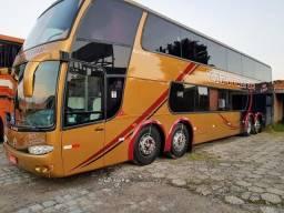 Vendo/Troco Ônibus Mpolo DD Scania 124 420cv 2002 - 2002
