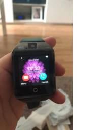 Smartwatch Relógio Bluetooth Celula Android , camera, chip,e entrada sd promoção