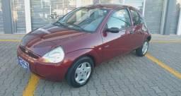 Ka c/direcao hidraulica lindo carro financio confira - 1999