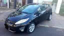 2012 Ford New Fiesta 1.6 Hatch 63mil km Bancos Couro,Oportunidade financio - 2012