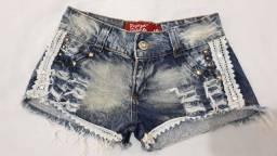 Short Jeans tam 40 semi-novo