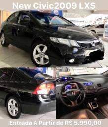 New Civic 2009 LXS Ent. 5.990