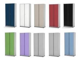 Armário alto 2 portas de aço- várias opções de cores e tamanhos