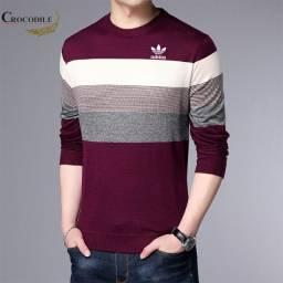 Camisa suéter masculina