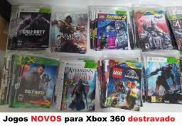 144 Jogos Novos para Xbox 360 LTU / LT3.0 + Outros Jogos de Brinde