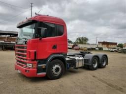Scania 124 6x4 bug leve
