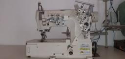 Maquina de costura galoneira industrial singer