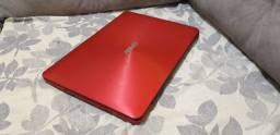 Ultrabook Asus i3, 4gb de memória, 1tera de hd