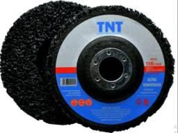 Strip Disc Removedor De Tintas Fundos E Vernizes 115mm 5pçs