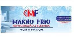 Makro frio refrigeração peça serviços
