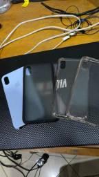 Fone Original Apple + Case iphone xs ou x