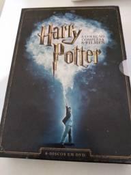 coleção de dvds harry potter, 8 filmes novíssimo