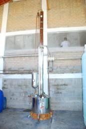 Coluna De Álcool inox 304 de 300l Santa Hefigenia