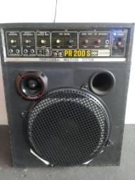 Caixa Amplificada PR 200s Ciclotron 250rms