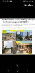 Alugo apartamento 2 quartos Residencial Allegro Sinop