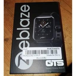 Relógio Smartwatch Zeblaze GTS Preto Original Esportes Faz e Recebe Ligação