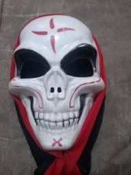 Máscara de halloween e festa fantasia